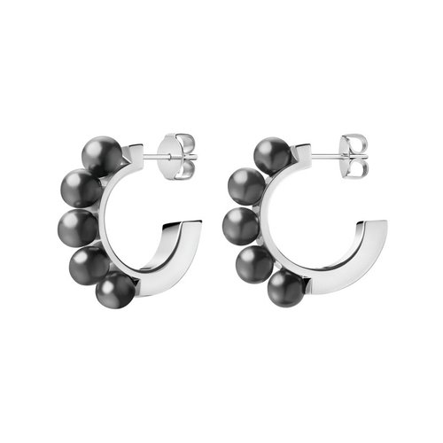 CALVIN KLEIN Circling Stainless Steel Earrings KJAKME040100