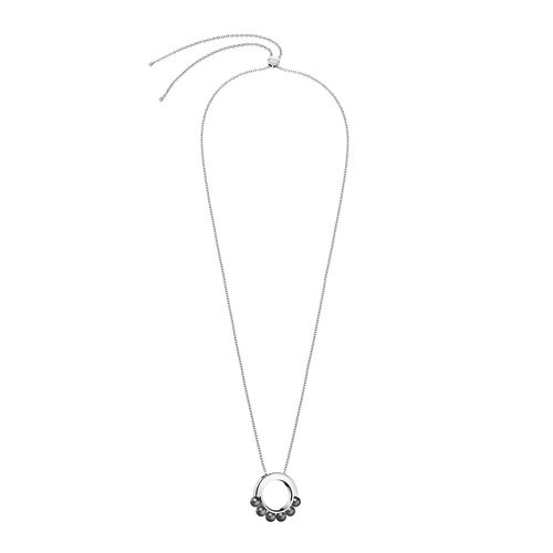 CALVIN KLEIN Circling Stainless Steel Necklace KJAKMN040100