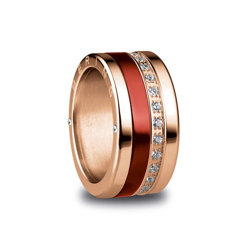 BERING Arctic Symphony Lausanne Stainless Steel Ring LAUSANNE