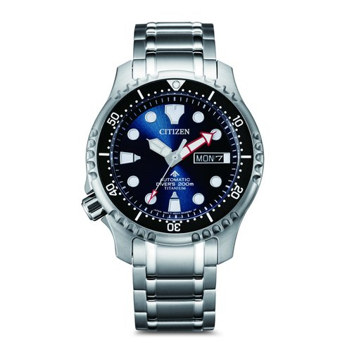 CITIZEN Divers Titanium Automatic NY0100-50M
