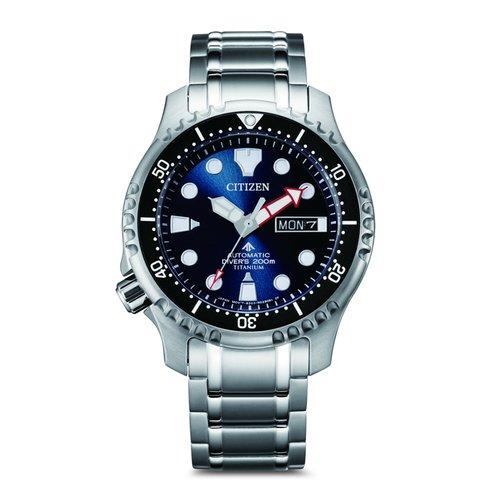 CITIZEN Divers Titanium Automatic NY0100-50M