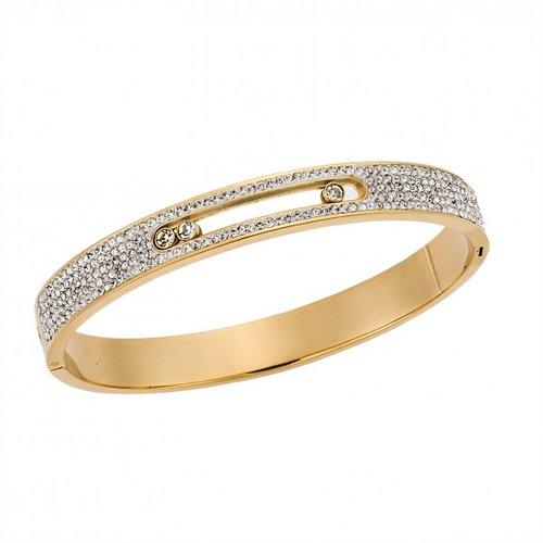 SENZA Steel Gold Plated Bracelet SSD4028GD