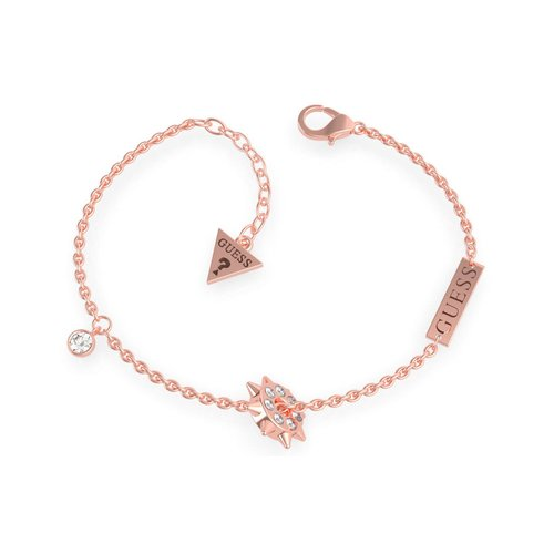 GUESS Steel Rose Gold Bracelet UBB79076-S