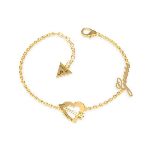 GUESS Steel Gold Bracelet UBB79091-S