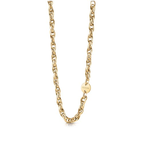 GUESS Steel Gold Necklace UBN29039
