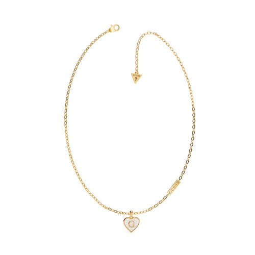 GUESS Steel Gold Necklace UBN79035
