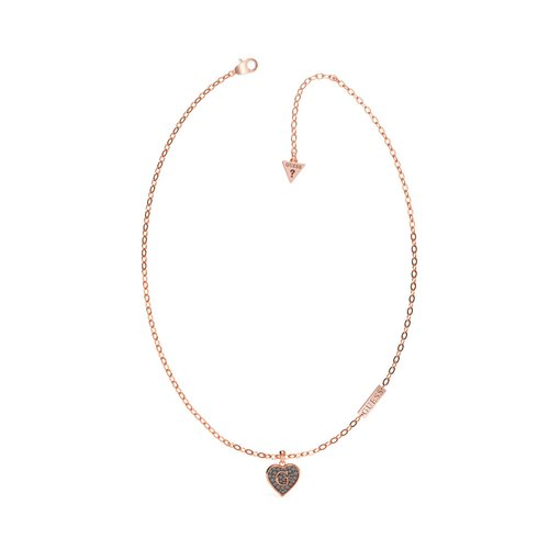 GUESS Steel Rose Gold Necklace UBN79037