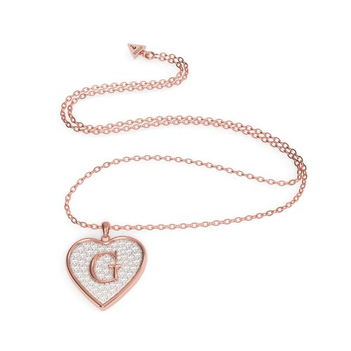 GUESS Steel Rose Gold Necklace UBN79040