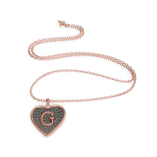 GUESS Steel Rose Gold Necklace UBN79041