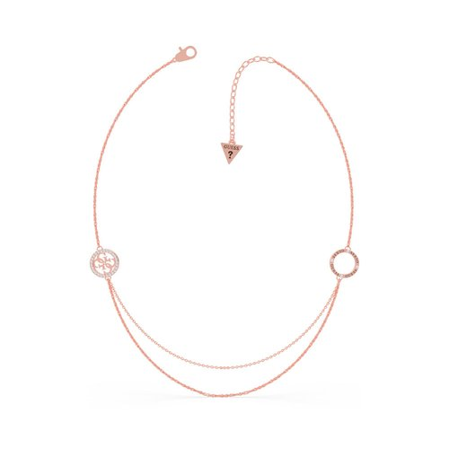 GUESS Steel Rose Gold Necklace UBN79048