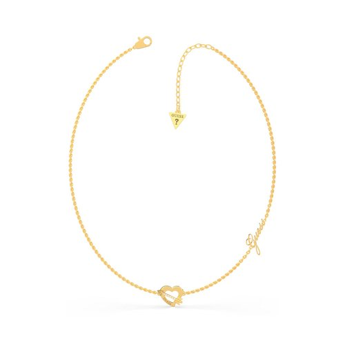 GUESS Steel Gold Necklace UBN79060