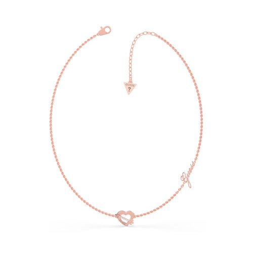 GUESS Steel Rose Gold Necklace UBN79061