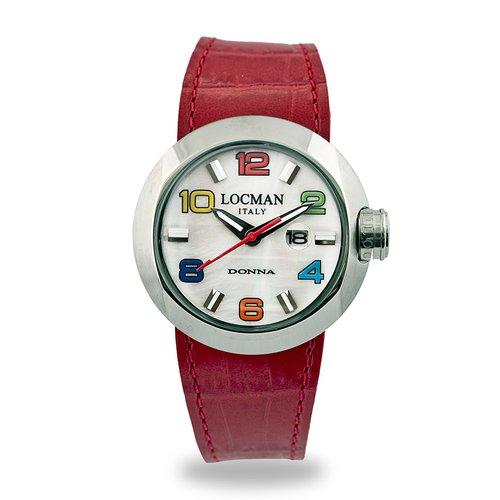 LOCMAN Tondo Donna Acciaio 042100MWNCO1PSR-B-WS