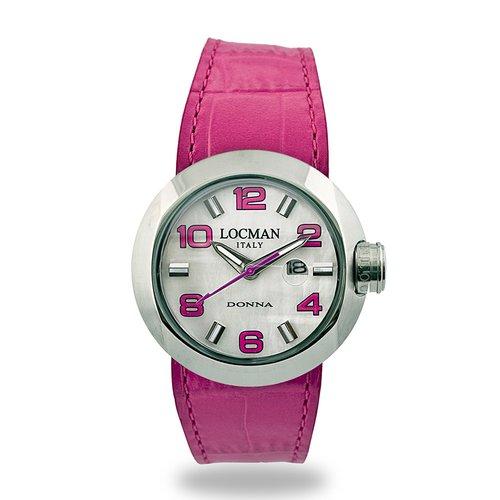 LOCMAN Tondo Donna Acciaio 042100MWNFX0PSF-FS-W