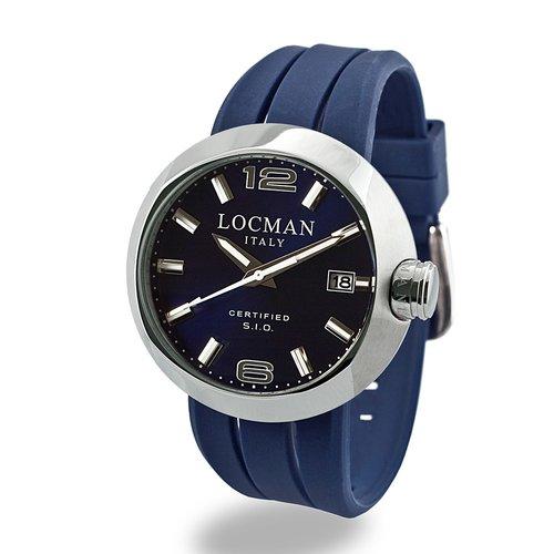 LOCMAN One Solo Tempo Acciaio 042200BLNNK0SIB-WS-B