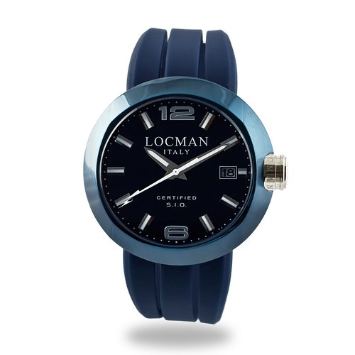 LOCMAN One Solo Tempo Acciaio 0422BLBLNNK0SIB-WS-B