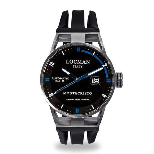 LOCMAN Montecristo Automatic 051100BKFBL0GOK