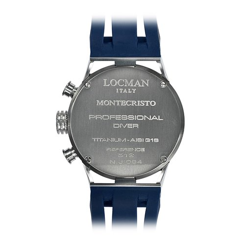 LOCMAN Montecristo Chronograph 051200BYBLNKSIB