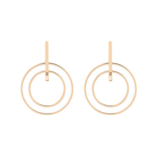 TOMMY HILFIGER Rose Gold Stainless Steel Earrings 2780319