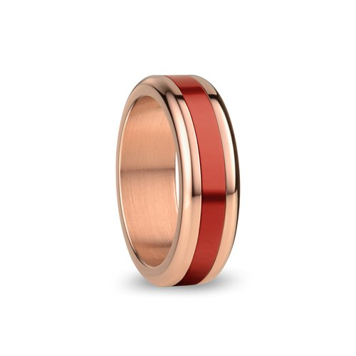 BERING Arctic Symphony Accra Aluminium Stainless Steel Ring ACCRA