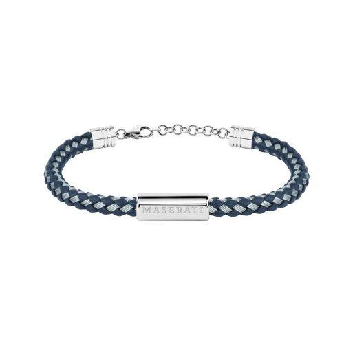 MASERATI Leather Bracelet JM217AJF12