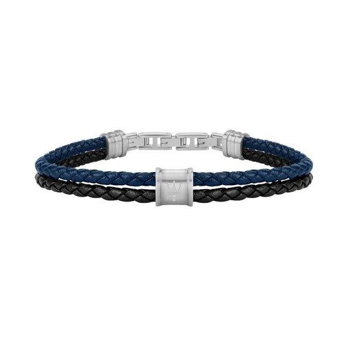 MASERATI Leather Bracelet JM219AQH24