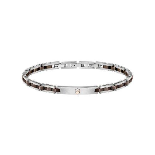 MASERATI Stainless Steel Bracelet JM220ASR05