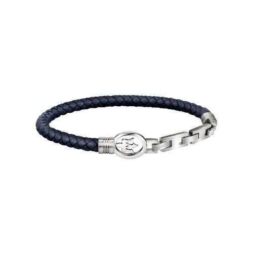 MASERATI Leather Bracelet JM320ASS01