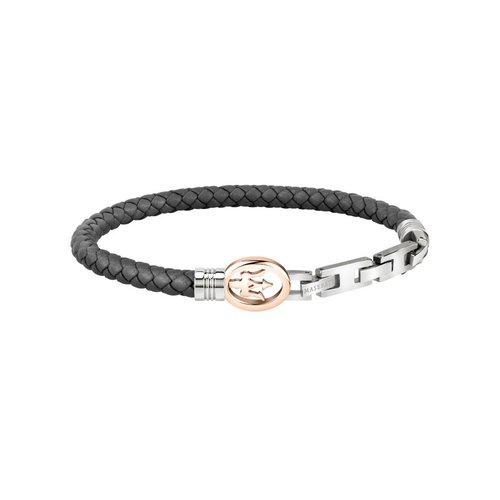 MASERATI Leather Bracelet JM320ASS02