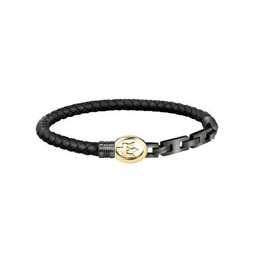 MASERATI Leather Bracelet JM320ASS04