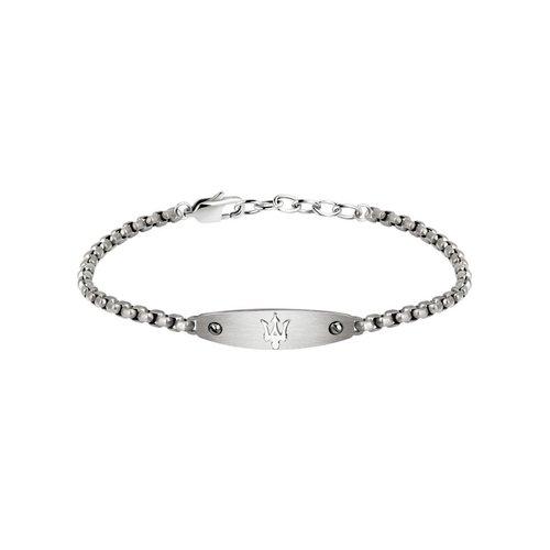 MASERATI Stainless Steel Bracelet JM320AST02