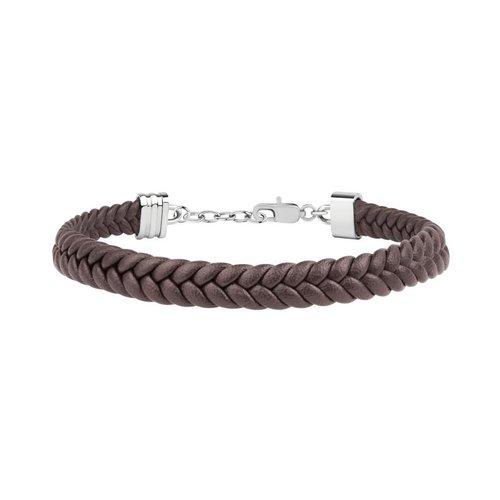 MASERATI Leather Bracelet JM418ANI03