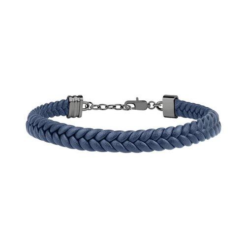 MASERATI Leather Bracelet JM418ANI04