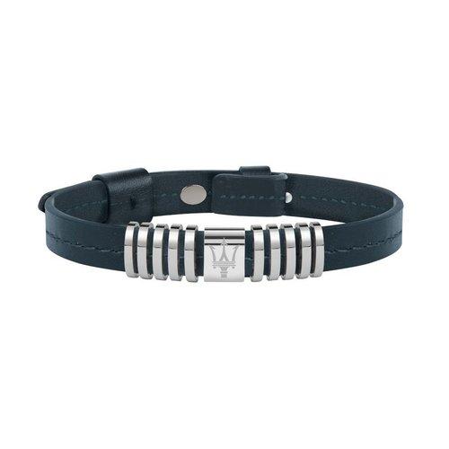 MASERATI Leather Bracelet JM418ANJ01