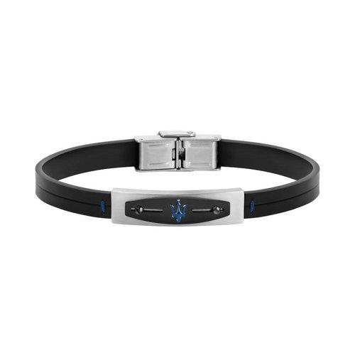 MASERATI Leather Bracelet JM419ARY04
