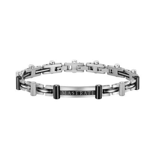 MASERATI Stainless Steel Bracelet JM419ASB03