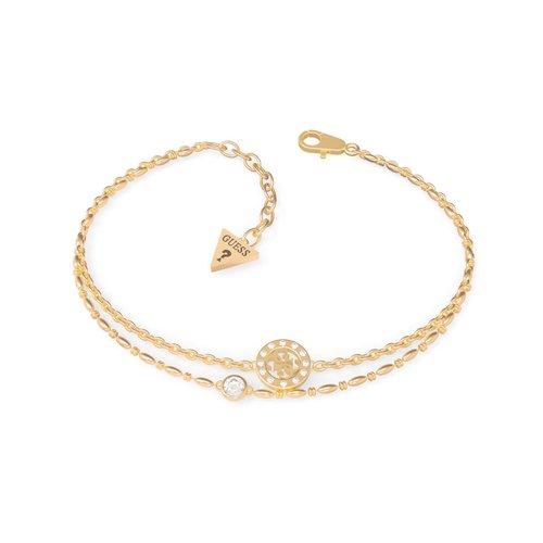 GUESS Steel Gold Bracelet UBB79033-S
