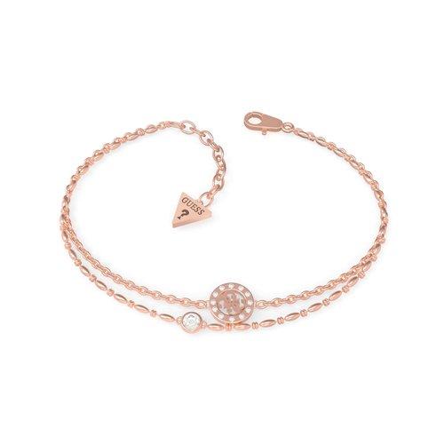 GUESS Steel Rose Gold Bracelet UBB79034-S