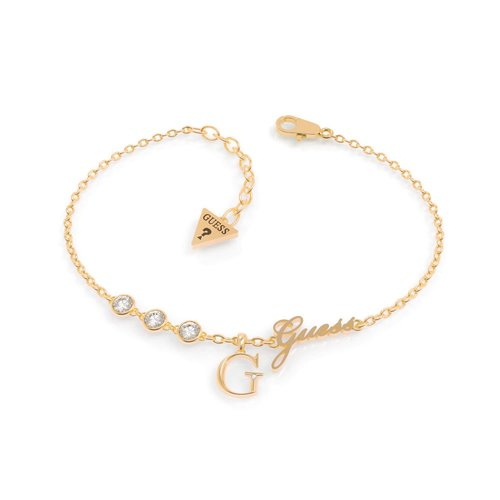 GUESS Steel Gold Bracelet UBB79039-S