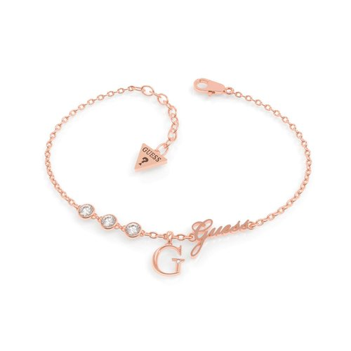 GUESS Steel Rose Gold Bracelet UBB79040-S