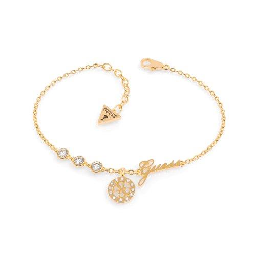 GUESS Steel Gold Bracelet UBB79042-S
