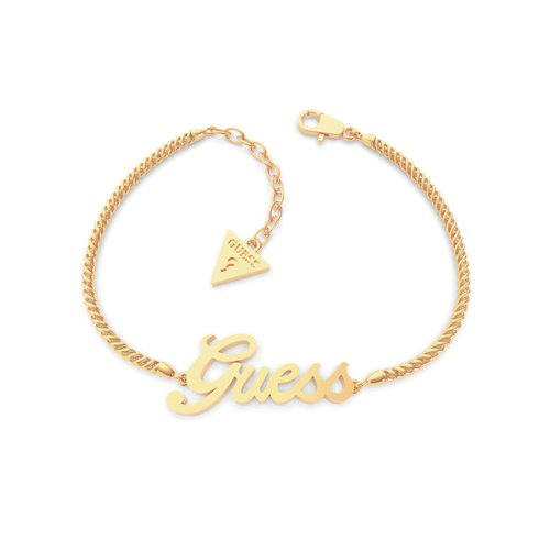 GUESS Steel Gold Bracelet UBB79103-S