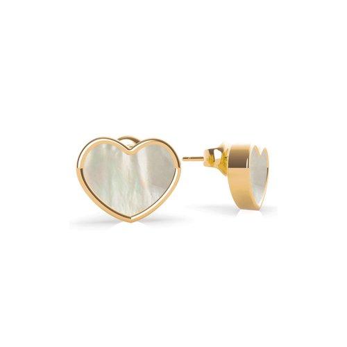 GUESS Steel Gold Earrings UBE79019