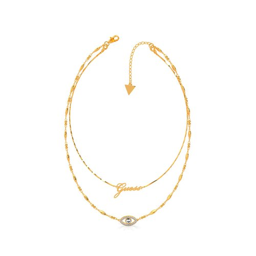 GUESS Steel Gold Necklace UBN29001