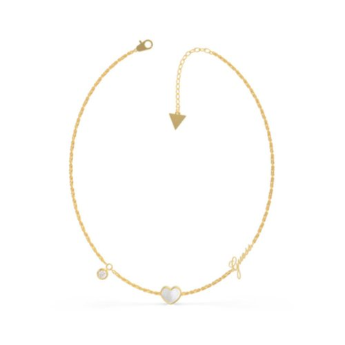 GUESS Steel Gold Necklace UBN79016