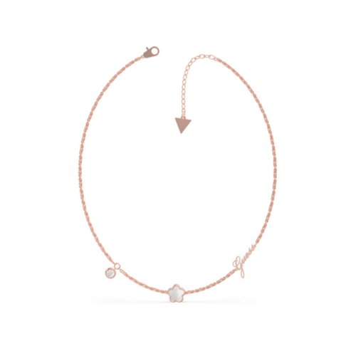 GUESS Steel Rose Gold Necklace UBN79018