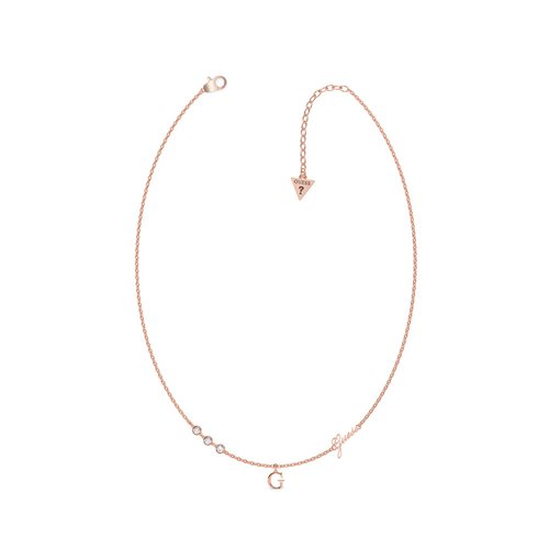 GUESS Steel Rose Gold Necklace UBN79021