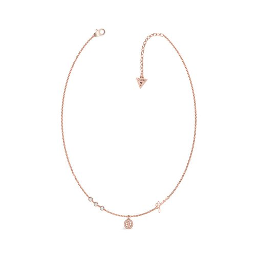 GUESS Steel Rose Gold Necklace UBN79024