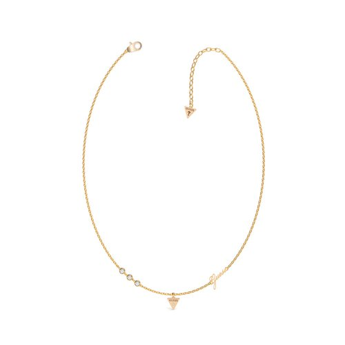 GUESS Steel Gold Necklace UBN79026