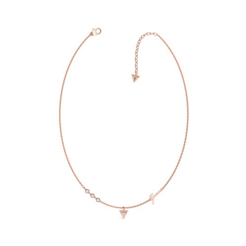 GUESS Steel Rose Gold Necklace UBN79027